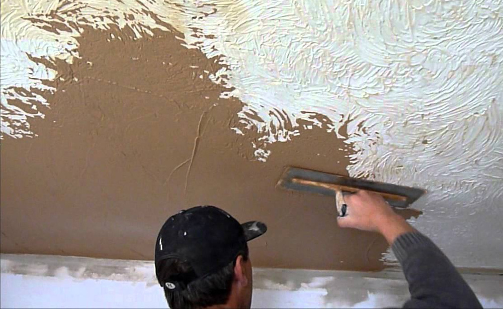 Plastering over Artex